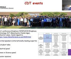 Doctoral Training Center webinars for doctoral students